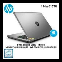 LAPTOP HP 14-Bs015TU Core I3-6006U Windows 10 Original