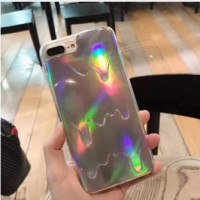 Casing HP Unik Hologram Case Iphone 5/5s/6/6s/6 plus/7/7 plus