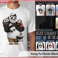Kung Fu Panda World 2 TX - BAJU KAOS DISTRO PRIA WANITA ANAK OCEAN SEV