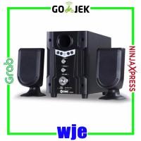 Multimedia Speaker GMC 888D2 Cocok Untuk TV DVD PC LAPTOP HANDPHONE