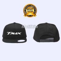 Topi Snapback YAMAHA TMAX simpel elegant keren (Must Buy) Motifkita