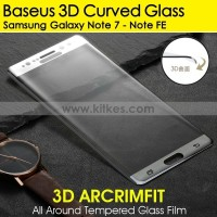 Baseus 3D Full Curved Tempered Glass Samsung Galaxy Note 7 - Note FE
