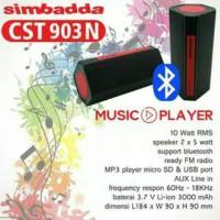 Jual Simbadda Music Player CST 903 Speaker Bluetooth Garansi Resmi Murah