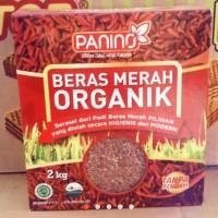 Jual PANINO 2KG Beras Merah Organik Tanpa Rendam Murah