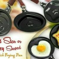 Jual Teflon Karakter mini frying pan /cetakan telur Murah