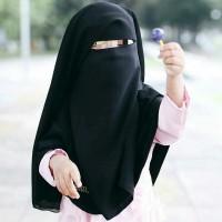 Niqab anak/niqab Qibtiyyah kids