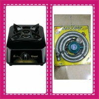kompor gas 1tungku rinnai RI-301S +PAKET SELANG GASCOMP