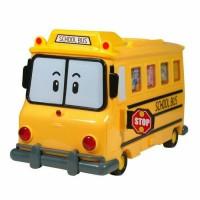 Robocar Poli School BI Carrier Toy For Die Cast Cars Robot Original TV