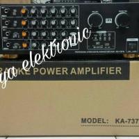 Harga terbaru amplifier mixer 3s ka 737a 4 channel usb sd   Pembandingharga.com