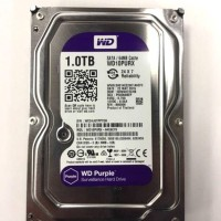 "Harddisk Internal 3,5"" HDD WD 1 TERA(TB) Purple for CCTV/PC"