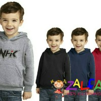 Jaket Sweater Hoodie NHK Helm Untuk Anak Usia 6-9 Tahun