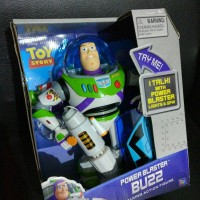TOY STORY TALKING BUZZ LIGHTYEAR WITH POWER BLASTER ORIGINAL THINKWAY