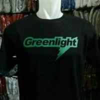 kaos/baju/t-shirt greenlight