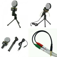 Condenser Microphones SF-930 + Splitter audio