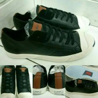 Converse All Star Jack Purcell Leather Low black brown