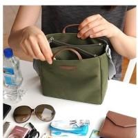 Korean multi compartment shoulder bag / Tas selempang / Tas jinjing