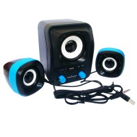 Advance Speaker USB Duo-300 - Biru