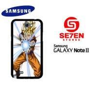 Casing Samsung Galaxy Note 2 Dragon Ball Z GOKU Custom Hardcase