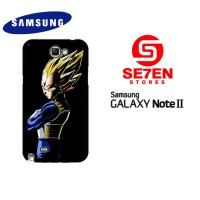 Casing Samsung Galaxy Note 2 Dragon Ball Z Vegeta Custom Hardcase C