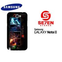 Casing Samsung Galaxy Note 2 dota 2 wallpaper 4 Custom Hardcase