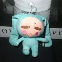HV6381 boneka Green bunny anime import 25cm KODE BIS6435