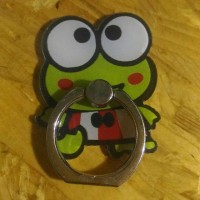 iRing/ Ring Holder / Cincin HP / Ring Stand Karakter Lucu  Keropi