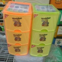 LACI / RAK CONTAINER CD / DVD SUSUN 3 SHINPO 345 L3