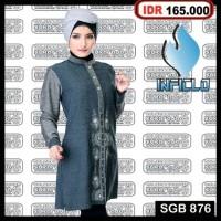 Jual Baju Tunik Busana muslimah Baju Muslim Gamis Kaftan Abaya Jilbab Murah Murah