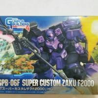 HG Gundam Super Custom Zaku F2000