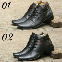 Jual sepatu kickers pantofel casual slip on slop kulit asli/sepatu kerja Murah