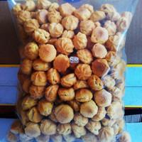 Kue Sus Kering Keju 500 gram | Soes Keju Weston