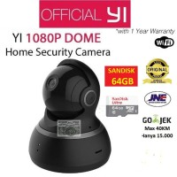Jual Bundle Xiaomi Yi Dome CCTV 1080 / 1080P International + Sandisk 64 GB Murah