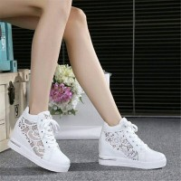 Jual SNEAKER WEDGES WHITE SNOW BROKAT Murah