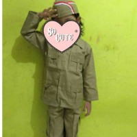 Baju Kostum Karnaval Profesi Pejuang Bung Tomo Anak