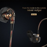Knowledge Zenith KZ - ATE Earphones with Mic HiFi Stereo Super Bass