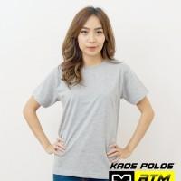 Kaos Polos Cotton Combed 20s Lengan Pendek Big Size 4XL - Misty