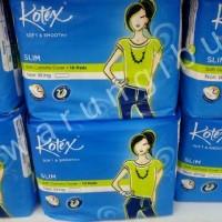 Pembalut Wanita Kotex Slim Soft Cottony Cover Non Wing
