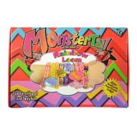 Jual kado hadiah   Rainbow Loom Bands Monstertail Box Oranye Starter Kit Murah