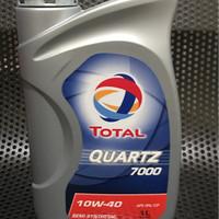 Oli TOTAL Quartz 7000 10W40 1 Liter