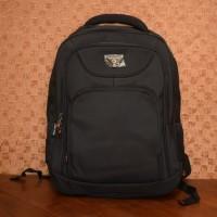 Tas Ransel Punggung Backpack Real Polo Line 8078 Original Hitam