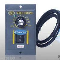 1Pc 40W 220V ~ 240V AC 6 Terminals Motor Speed Control Switch US-52