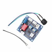 NEW DC 12V PWM PC CPU Fan Temperature Control Speed Controller Board 5