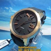 JAM TANGAN PRIA PUMA PU103462014 ROSE GOLD HITAM ORIGINAL MURAH