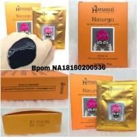 Hanasui Brightening Peel Off Face Mask - Naturgo BPOM ecer per sachet