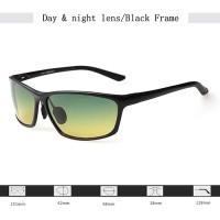 AORON HD Vision Day & Night Sunglasses - Kacamata Anti Silau