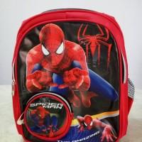 Jual Tas ransel anak TK Spiderman Murah