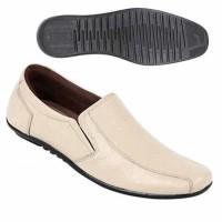 Sepatu Pria Bahan Kulit ts 0803 Zeintin