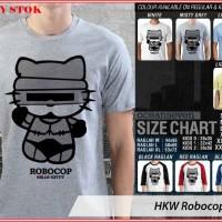 Jual HKW Robocop 1 TX - BAJU KAOS DISTRO PRIA WANITA ANAK OCEAN SEVEN Murah