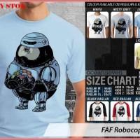 Jual FAF Robocop 1 TX - BAJU KAOS DISTRO PRIA WANITA ANAK OCEAN SEVEN Murah