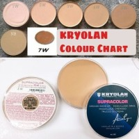 [BPOM] Kryolan Supracolor Foundation BESAR 55 ML / Supra Color Cryolan